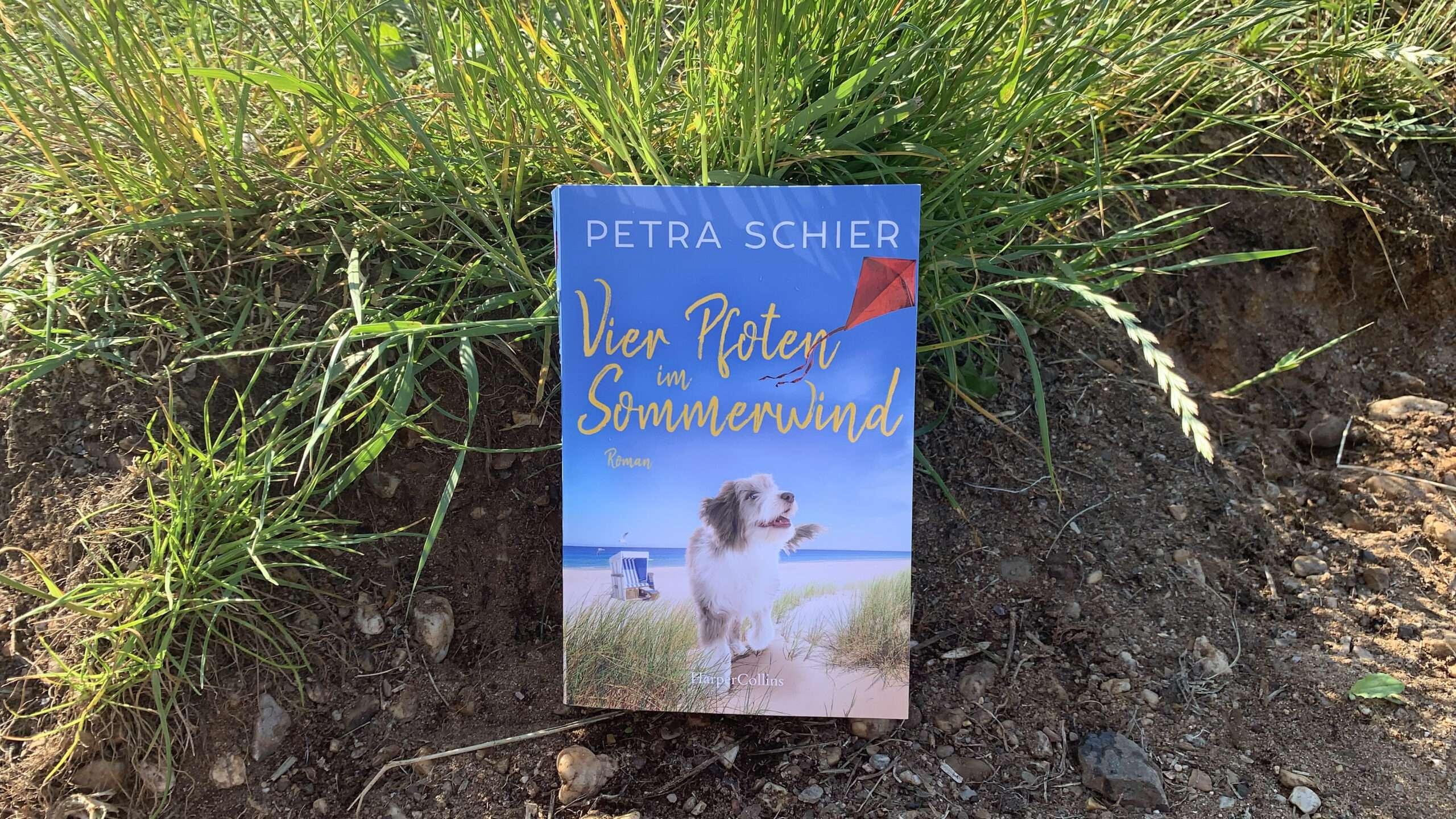 """You are currently viewing """"Vier Pfoten im Sommerwind"""" von Petra Schier"""